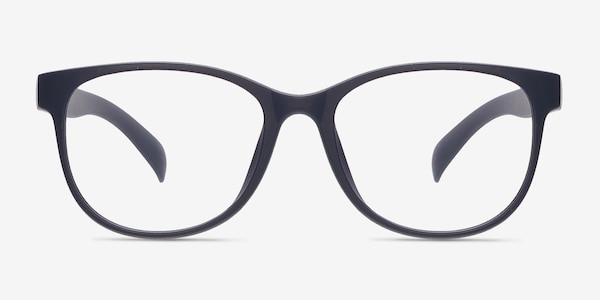 Warren Matte Navy Plastic Eyeglass Frames
