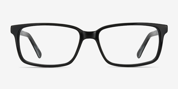 Denny Black/Gray Acetate Eyeglass Frames