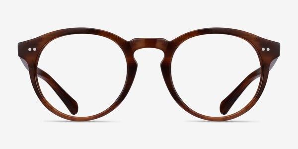 Theory Cognac Acetate Eyeglass Frames