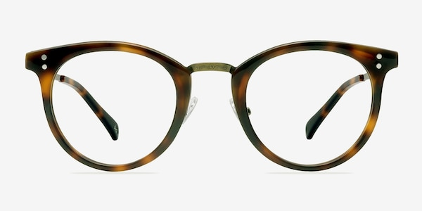 Nostalgia Caramel Acetate-metal Eyeglass Frames