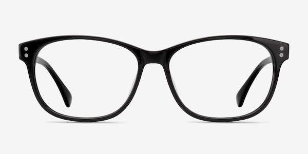 Delight Black Acetate Eyeglass Frames