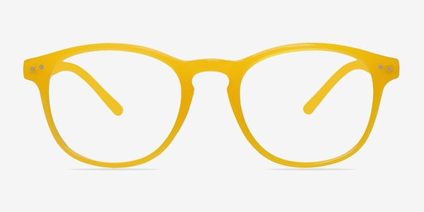 Instant Crush Yellow Plastic Eyeglass Frames