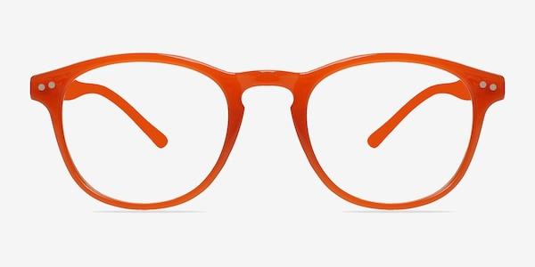 Instant Crush Orange Plastic Eyeglass Frames