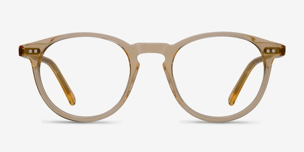 Kyoto  Clear Yellow  Acetate Eyeglass Frames