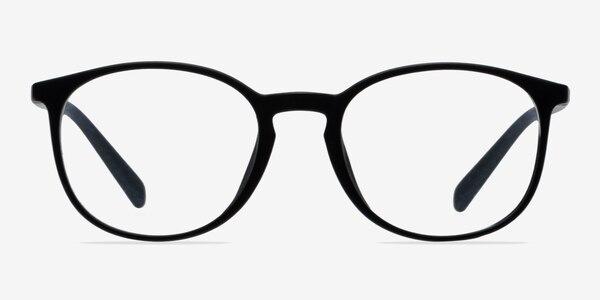 Dinah Matte Black Plastic Eyeglass Frames