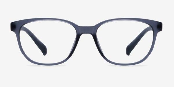 Moody Matte Gray Plastic Eyeglass Frames