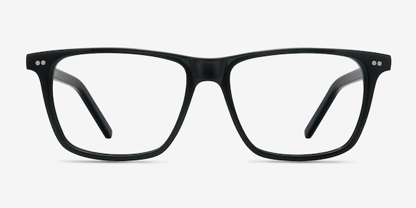 Default Black Acetate Eyeglass Frames