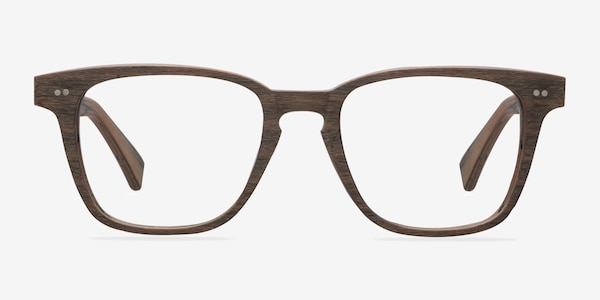 Samson  Brown Striped  Acetate Eyeglass Frames