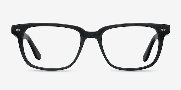 Pacific Black Acetate Eyeglass Frames