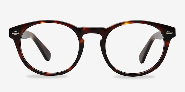 The Loop Tortoise Acetate Eyeglass Frames