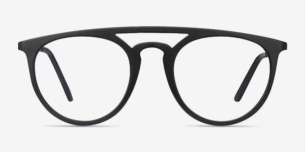 Fiasco Matte Black Plastique Montures de lunettes de vue