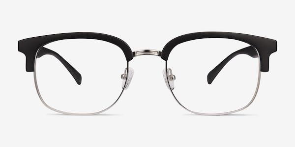 Yokote Matte Black Plastic-metal Eyeglass Frames