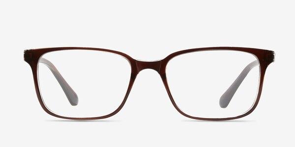 November Brown Clear  Plastic Eyeglass Frames