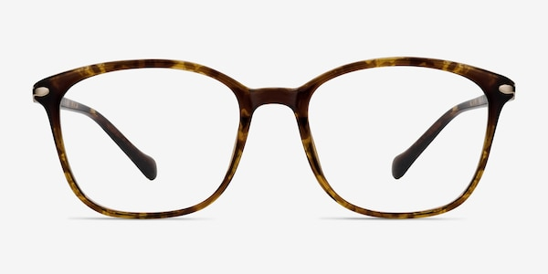 Nola Brown Plastic Eyeglass Frames