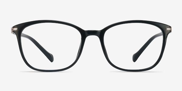 Nola Black Plastic Eyeglass Frames
