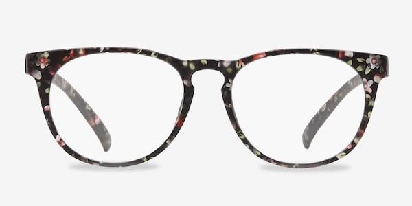 Brick Lane Matte Floral Plastic Eyeglass Frames