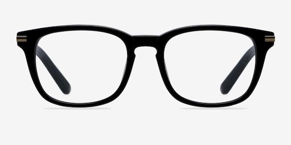 Infinity Black Acetate Eyeglass Frames