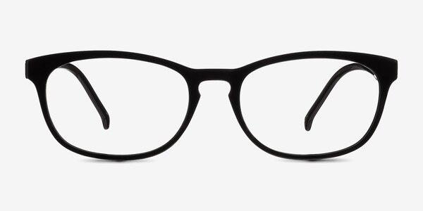 Little Drums Black Plastic Eyeglass Frames