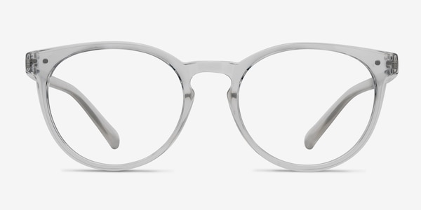 Little Morning Clear Plastic Eyeglass Frames