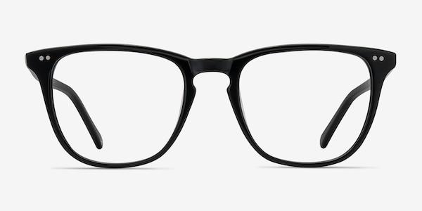 Exposure Jet Black Acetate Eyeglass Frames
