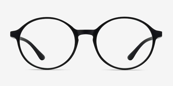 Poetic Matte Black Plastic Eyeglass Frames