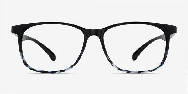 Character Black Navy Plastic Eyeglass Frames
