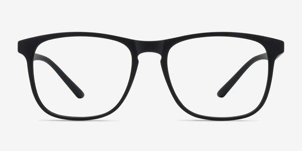 Ghent Matte Black Plastic Eyeglass Frames