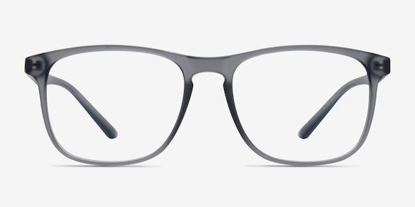 Ghent Matte Gray Plastic Eyeglass Frames