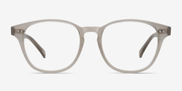 Lucid Clear Gray Acetate Eyeglass Frames