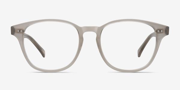 Lucid Clear Gray Acétate Montures de lunettes de vue
