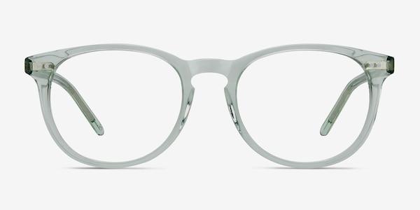 Aura Clear Jade Acetate Eyeglass Frames
