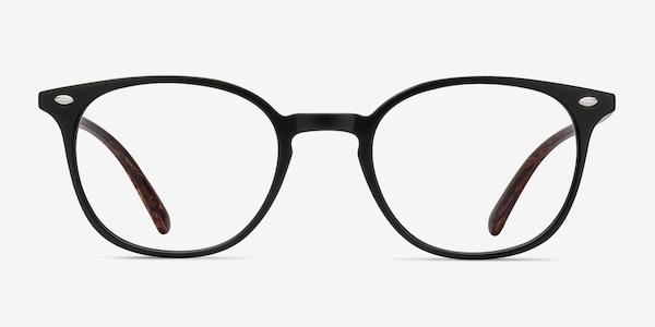 Hubris Matte Black Plastique Montures de Lunette de vue
