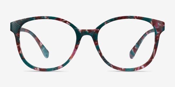 The Beat Floral Plastic Eyeglass Frames