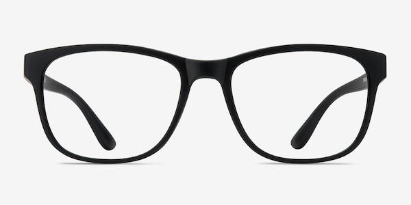 Milo Matte Black Plastique Montures de Lunette de vue