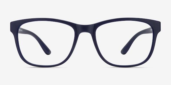 Milo Matte Navy Plastique Montures de Lunette de vue