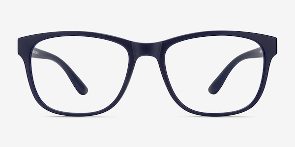 Milo Matte Navy Plastic Eyeglass Frames