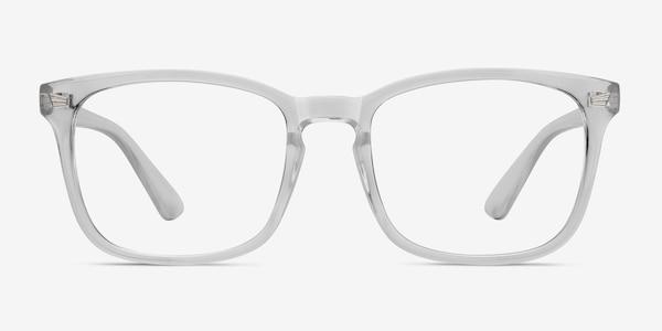 Uptown Clear Plastic Eyeglass Frames