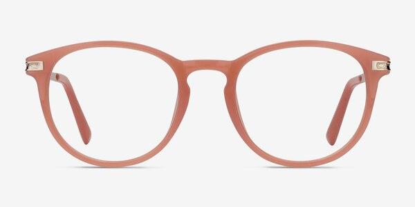 Daphne Pink Plastic-metal Eyeglass Frames