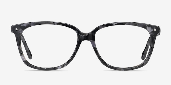 Escape Marbled Gray Acetate Eyeglass Frames
