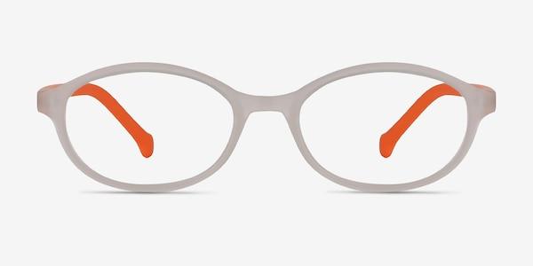 Skipper Matte Clear Plastic Eyeglass Frames
