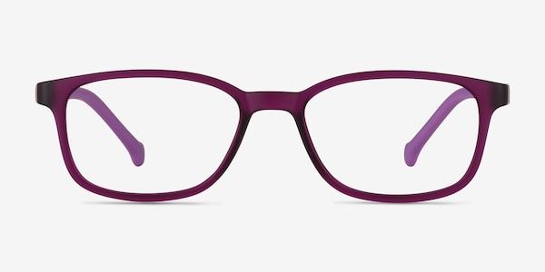 Posie Purple Plastic Eyeglass Frames
