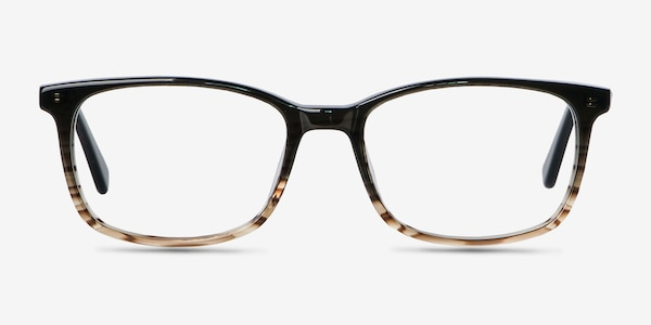 Botanist Gray Brown Acetate Eyeglass Frames