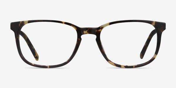 Emblem Tortoise Acetate Eyeglass Frames