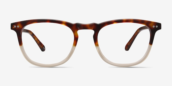 Illusion Tortoise Clear Acetate Eyeglass Frames