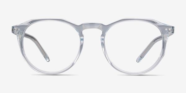 Planete Clear Blue Acetate Eyeglass Frames