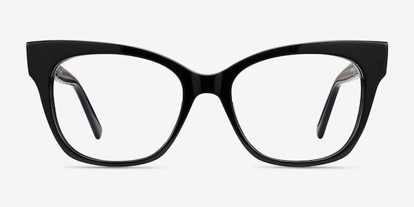 Cachet Black Acetate Eyeglass Frames
