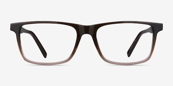 Mariner Clear Brown Acetate Eyeglass Frames