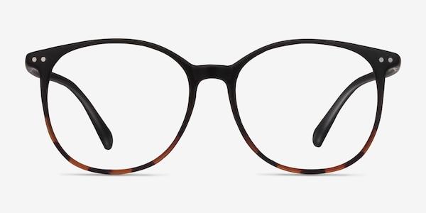 Lucia Black Tortoise Plastic Eyeglass Frames
