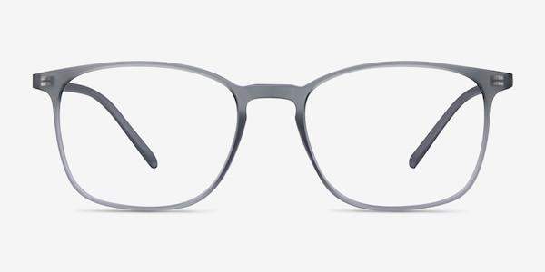 Trenton Gray Plastic Eyeglass Frames