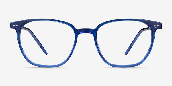 Regalia Blue Acetate Eyeglass Frames